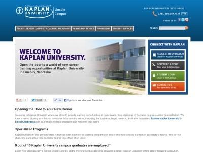 Kaplan University Tuition >> Kaplan University Lincoln Campus 1821 K St Lincoln